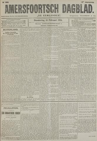 Amersfoortsch Dagblad / De Eemlander 1915-02-18