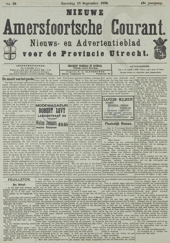 Nieuwe Amersfoortsche Courant 1920-09-18