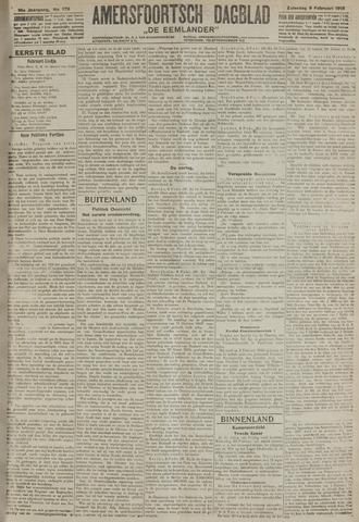 Amersfoortsch Dagblad / De Eemlander 1918-02-09