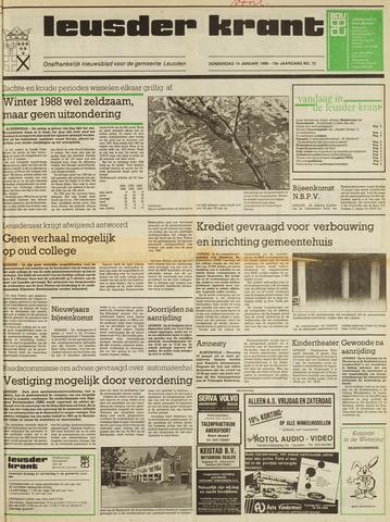 Leusder Krant 1988-01-14