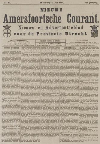 Nieuwe Amersfoortsche Courant 1912-07-31