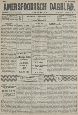 Amersfoortsch Dagblad / De Eemlander 1916-09-06