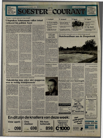 Soester Courant 1992-09-30