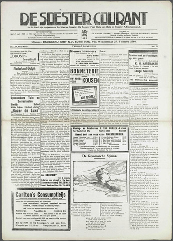 Soester Courant 1939-05-26