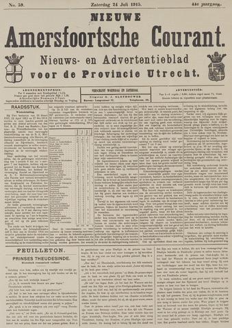 Nieuwe Amersfoortsche Courant 1915-07-24