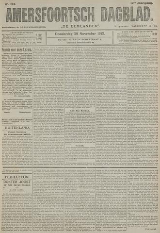Amersfoortsch Dagblad / De Eemlander 1913-11-20