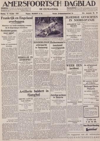 Amersfoortsch Dagblad / De Eemlander 1937-10-12