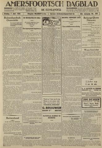 Amersfoortsch Dagblad / De Eemlander 1932-06-07