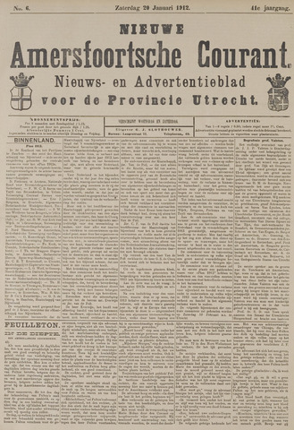 Nieuwe Amersfoortsche Courant 1912-01-20