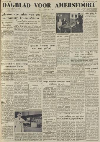 Dagblad voor Amersfoort 1949-11-09