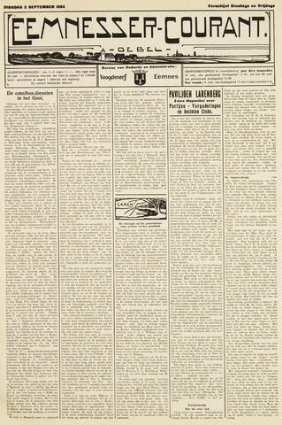 Eemnesser Courant 1924-09-02