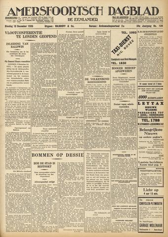 Amersfoortsch Dagblad / De Eemlander 1935-12-10