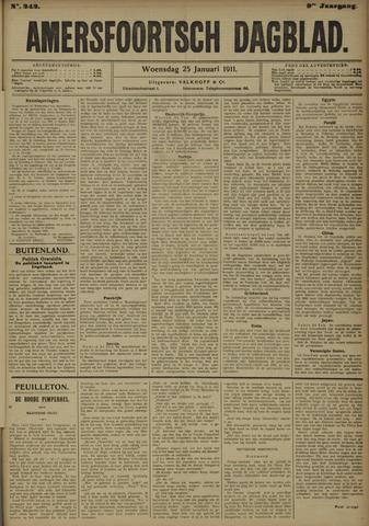 Amersfoortsch Dagblad 1911-01-25