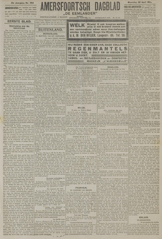 Amersfoortsch Dagblad / De Eemlander 1923-04-30