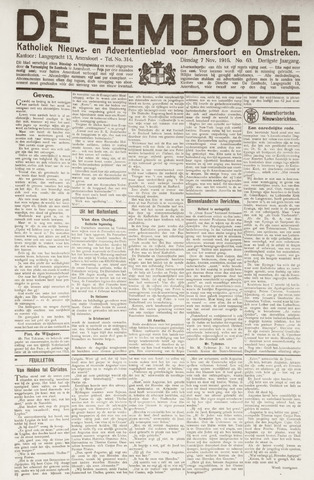 De Eembode 1916-11-07