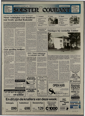 Soester Courant 1992-10-14