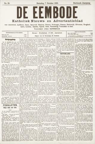 De Eembode 1899-10-07