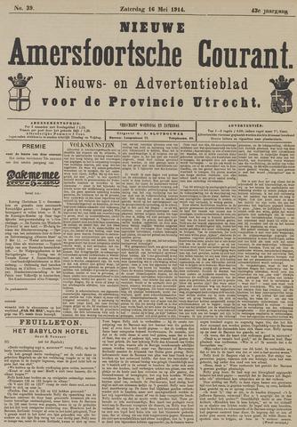 Nieuwe Amersfoortsche Courant 1914-05-16