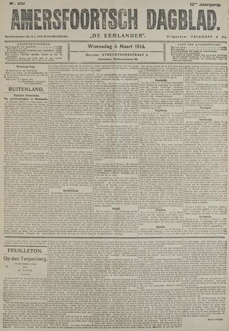 Amersfoortsch Dagblad / De Eemlander 1914-03-04