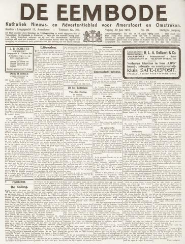 De Eembode 1916-06-30
