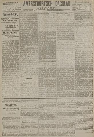 Amersfoortsch Dagblad / De Eemlander 1918-07-11