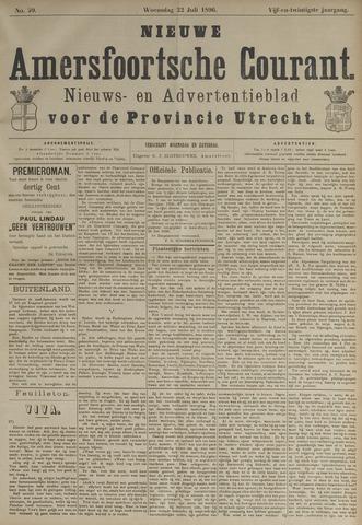 Nieuwe Amersfoortsche Courant 1896-07-22