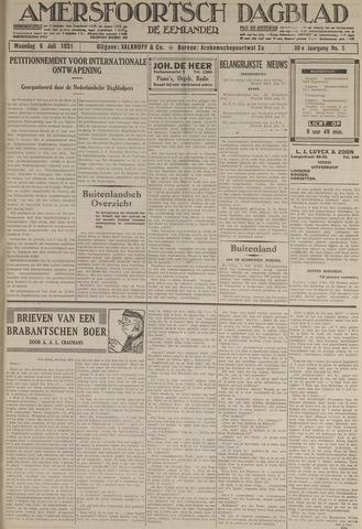 Amersfoortsch Dagblad / De Eemlander 1931-07-06