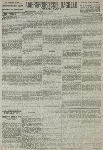 Amersfoortsch Dagblad / De Eemlander 1921-08-18