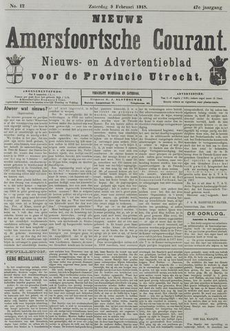 Nieuwe Amersfoortsche Courant 1918-02-09