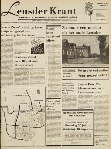 Leusder Krant 1973-07-26