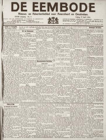 De Eembode 1914-04-17