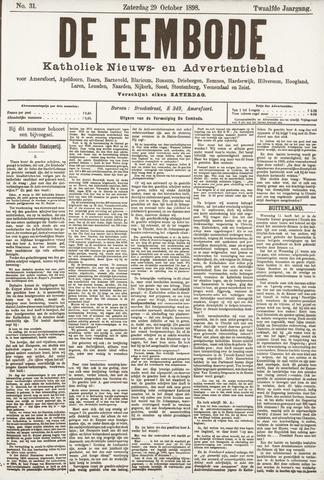 De Eembode 1898-10-29