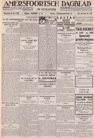 Amersfoortsch Dagblad / De Eemlander 1935-06-26