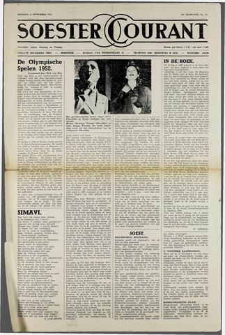 Soester Courant 1952-11-11