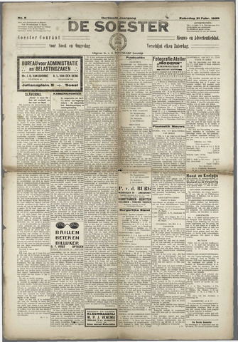 Soester Courant 1925-02-21