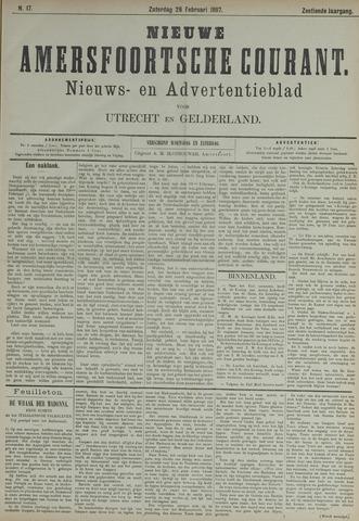 Nieuwe Amersfoortsche Courant 1887-02-26