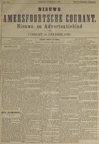 Nieuwe Amersfoortsche Courant 1895-02-09