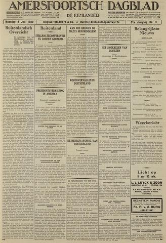 Amersfoortsch Dagblad / De Eemlander 1932-07-04