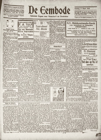 De Eembode 1936-03-17