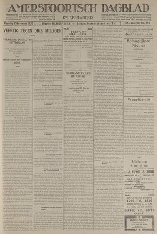 Amersfoortsch Dagblad / De Eemlander 1933-11-13