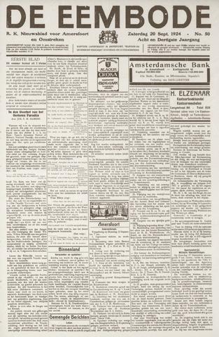 De Eembode 1924-09-20