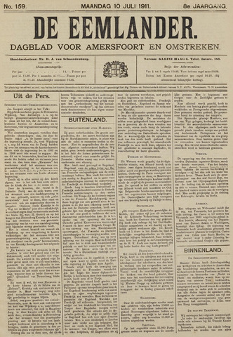 De Eemlander 1911-07-10