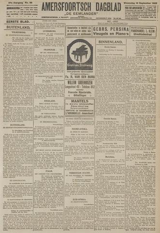 Amersfoortsch Dagblad / De Eemlander 1925-09-16