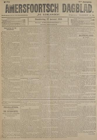 Amersfoortsch Dagblad / De Eemlander 1916-01-27