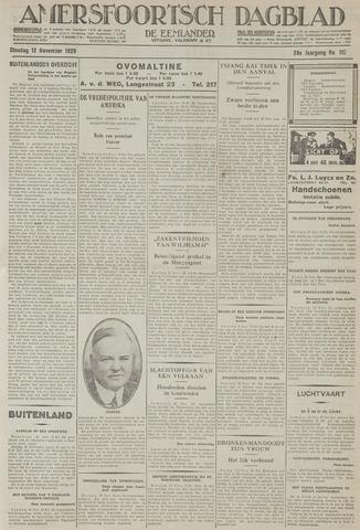 Amersfoortsch Dagblad / De Eemlander 1929-11-12