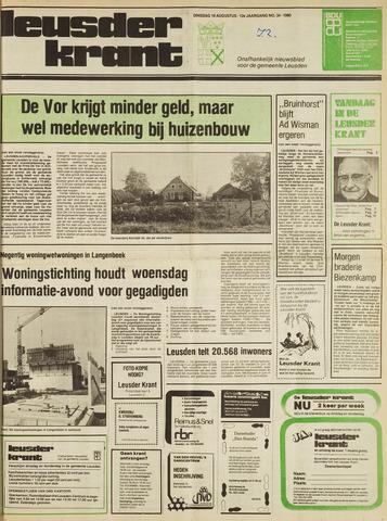Leusder Krant 1980-08-19