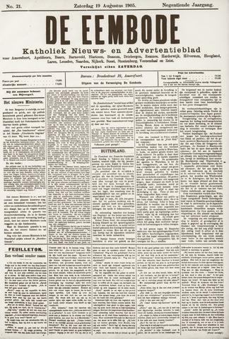 De Eembode 1905-08-19