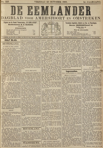 De Eemlander 1908-10-23