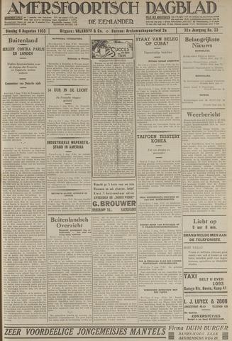 Amersfoortsch Dagblad / De Eemlander 1933-08-08