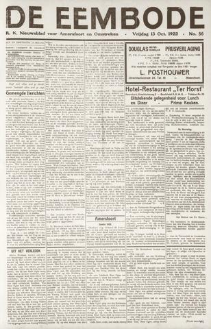De Eembode 1922-10-13